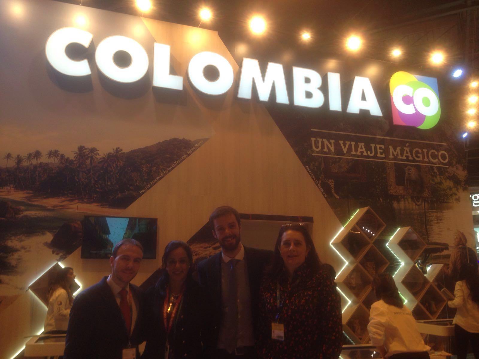 FITUR - IFEMA - delegación de Colombia