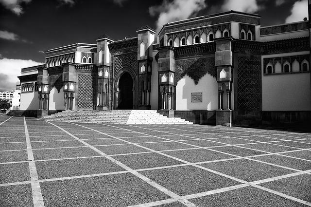 Mezquita en Agadir, Marruecos