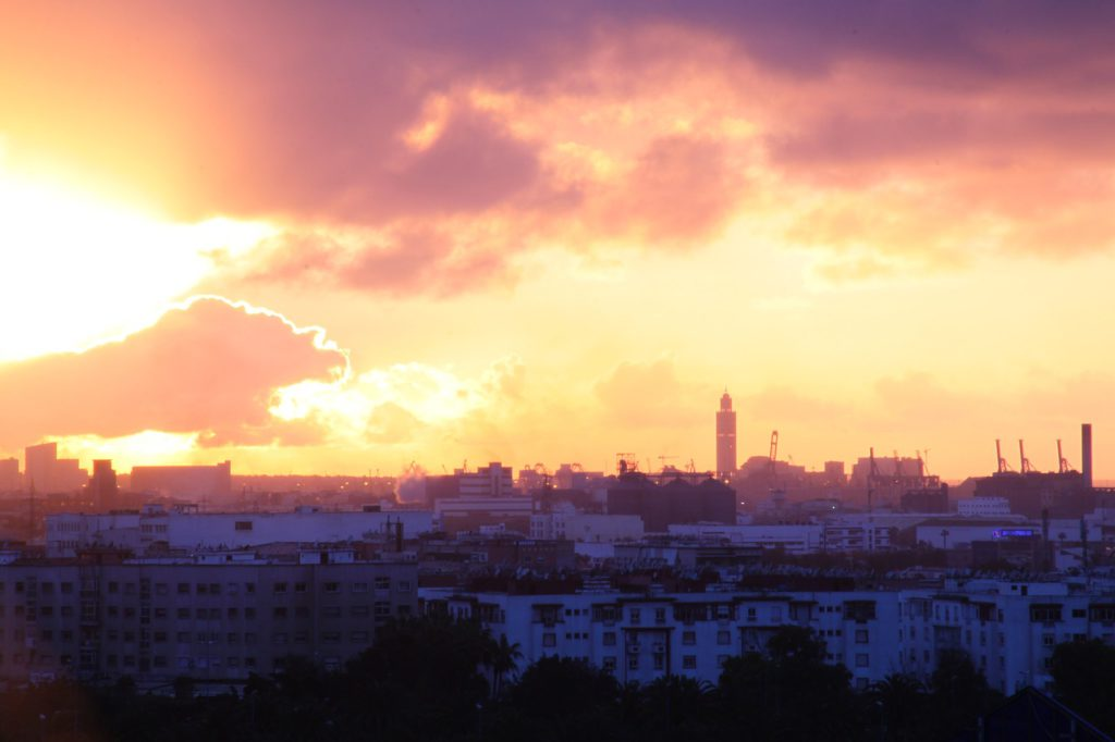 Casablanca es la principal ciudad económica del país